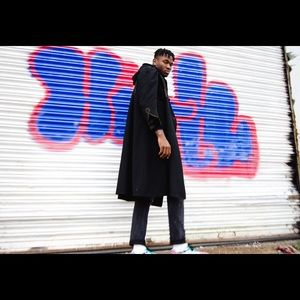 Other - 1920s Hand Stitched Black Coat DOPE